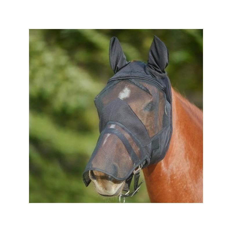 2 Masque intégral anti mouche cheval avec oreilles Premium, Waldhausen, Le Paturon