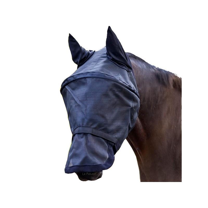 1 Masque anti mouche cheval, arceau,Waldhausen,Masque Anti-Mouches cheval