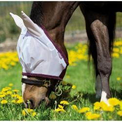 3 Masque anti mouche cheval, anti uv maille fine Amigo, Horseware, Le Paturon