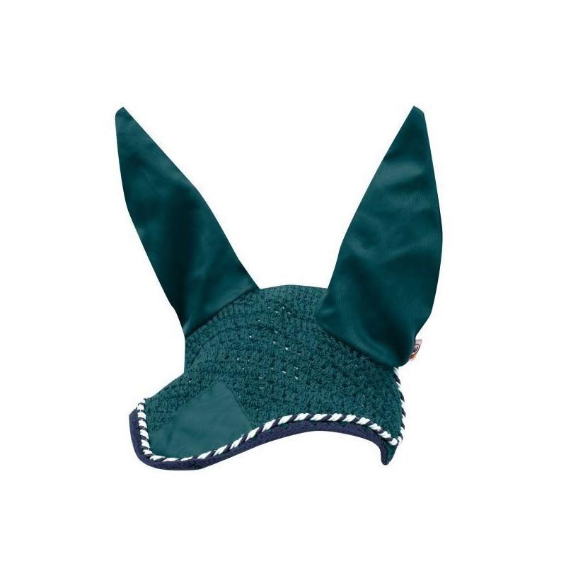 1 Bonnet anti mouche cheval, coton Rom, Waldhausen, Le Paturon