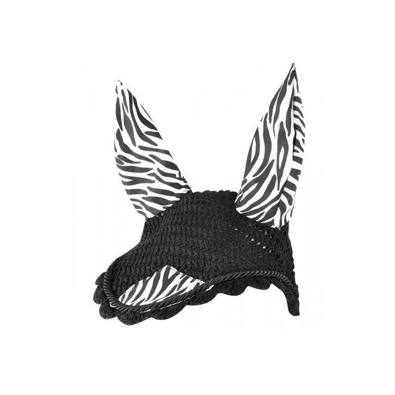 1 Bonnet anti mouche cheval, Zebra, Waldhausen, Le Paturon