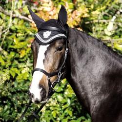 1 Bonnet anti mouche cheval, coton Rambo Diamanté, Horseware, Le Paturon