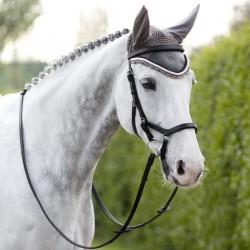3 Bonnet cheval, Bonnet Horseware, coton Rambo Grand Prix, Le Paturon