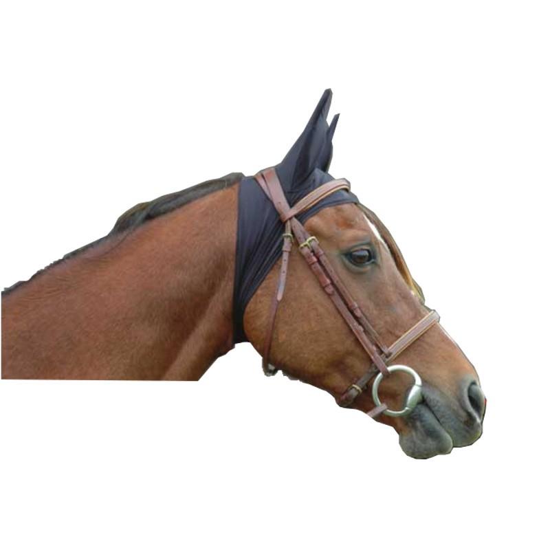 1 Bonnet anatomique cheval ,Le Paturon,Masque Anti-Mouches cheval