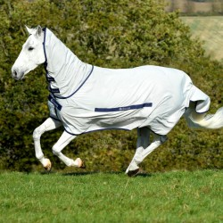 1 Couverture anti-dermite anti-uv cheval, Sweet itch Bucas - Le Paturon