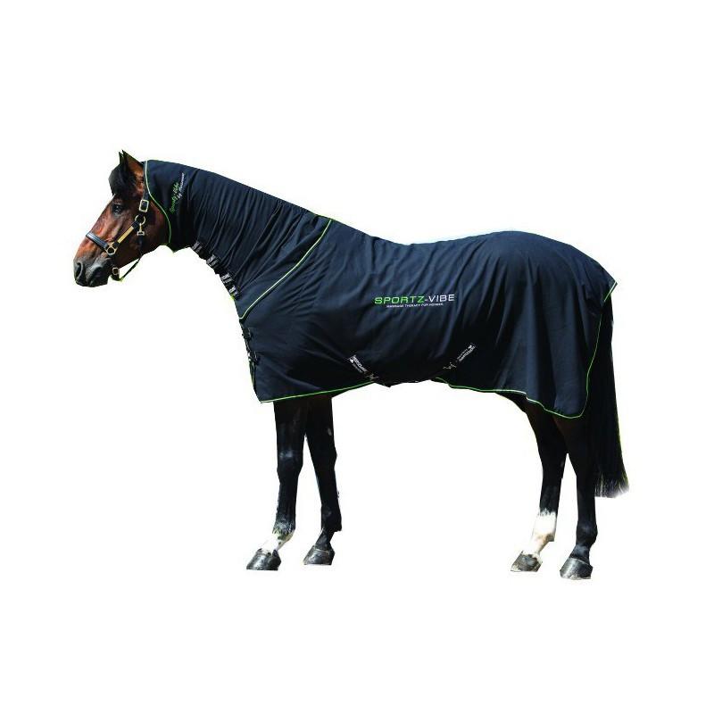 1 couverture massage cheval, horseware, sportzvibe