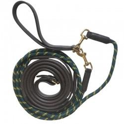 1 Rênes allemandes cuir caoutchouc corde - Rênes cheval - Le Paturon
