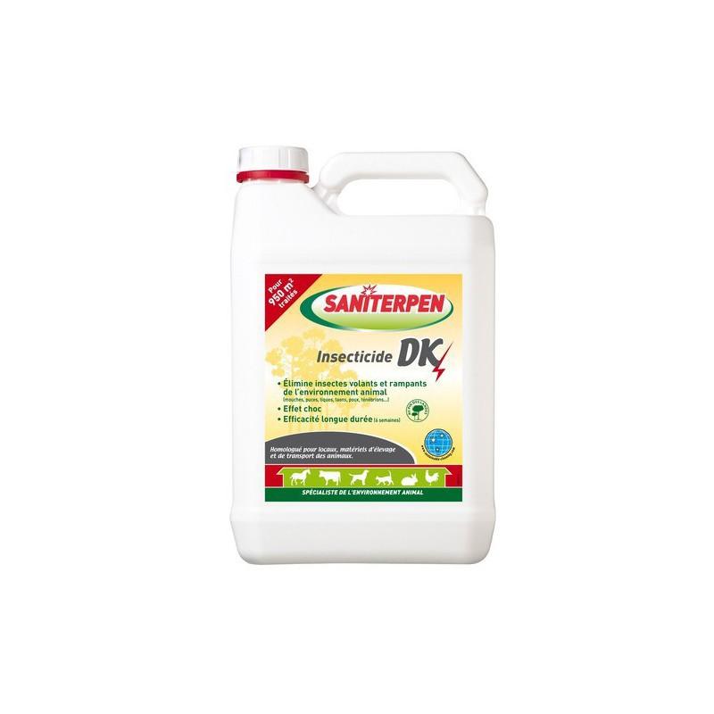 Insecticide pour locaux 5 L volants et rampants DK, Saniterpen
