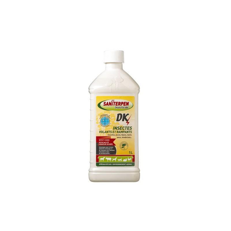 1 Insecticide pour locaux 1 L volants et rampants DK,Saniterpen,EquestraSaniterpen