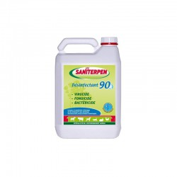 1 Désinfectant à diluer 90 -5 L,Saniterpen,EquestraSaniterpen