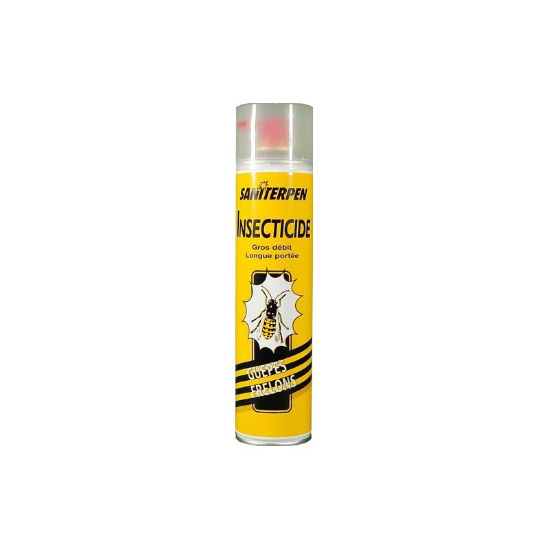 1 Saniterpen Spray 600 ml guêpes et frelons - Saniterpen