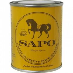 1 Crème entretien cuir nutritive 200ml Sapo - Soin du cuir - Le Paturon