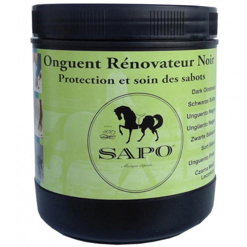 1 Onguent noir rénovateur SAPO 750 ml - Soin sabot cheval - Le Paturon