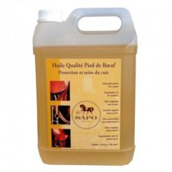 1 Huile pour cuir qualité pied de boeuf SAPO - Soin du cuir - Le Paturon