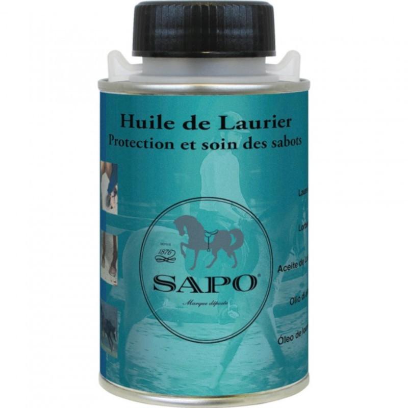1 Huile laurier 250ml avec pinceau Sapo - Soin sabot cheva - Le Paturon