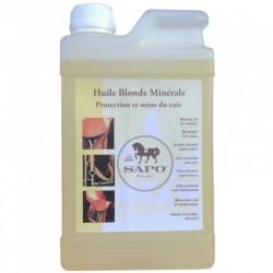 1 Bidon huile minérale Sapo 1 litre - Soin du cuir - Le Paturon