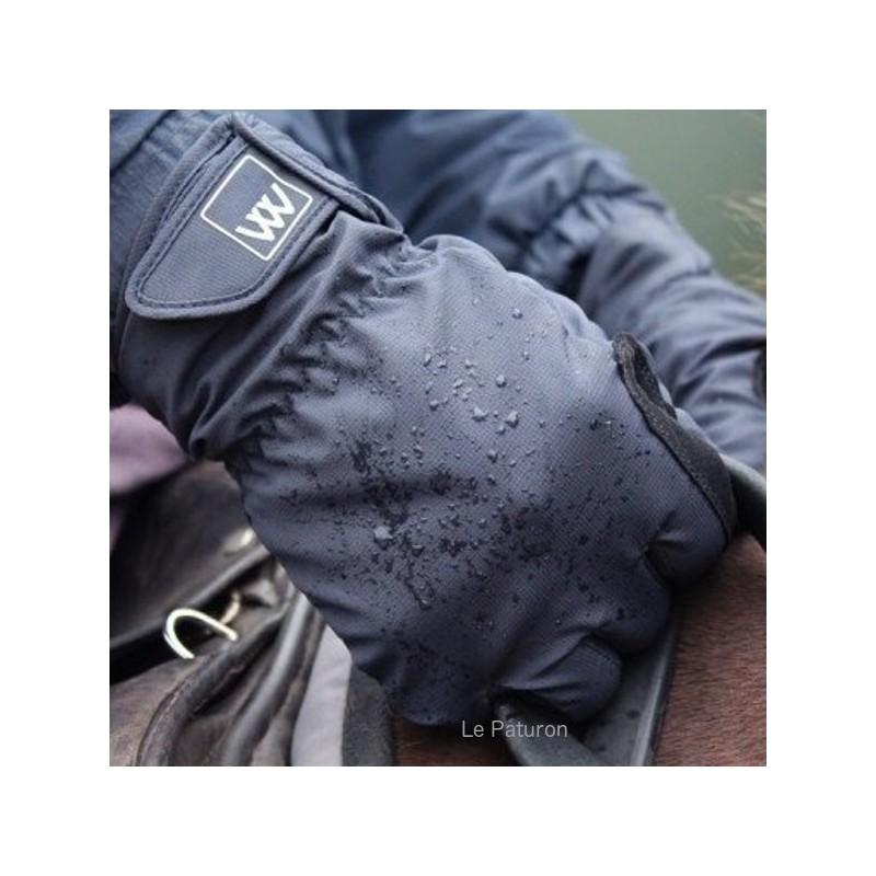 2 Gants équitation imperméable - WoofWear - Le Paturon
