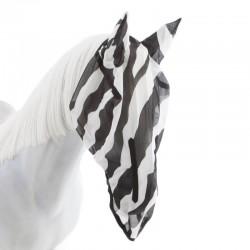 Masque anti UV Cheval Zebra intégral Bucas - Le PaturonMasque anti UV Cheval Zebra intégral Bucas - Le Paturon