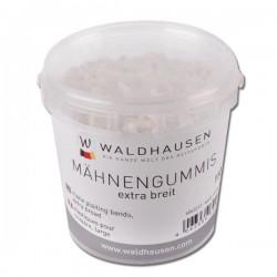 1 Élastiques cheval à natter extra lagre silicone - Waldhausen - Le Paturon