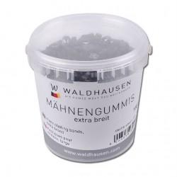 2 Élastiques cheval à natter extra lagre silicone - Waldhausen - Le Paturon