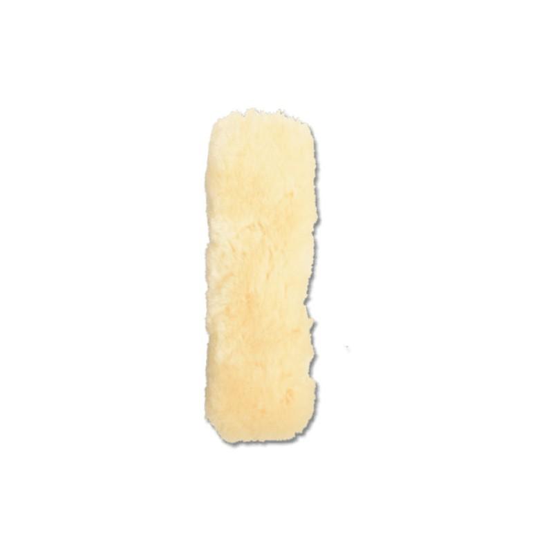 1 Protection cheval : muserolle têtière mouton véritable - Le Paturon