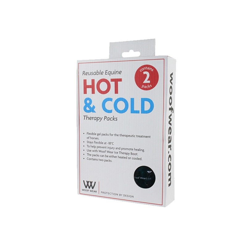 1 Protection Woof Wear : Pack chaud froid cheval guêtres thérapeutiques