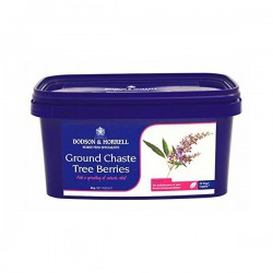 1 Ground Chaste Tree Berries, Gattilier cheval, Dodson Horrell Le Paturon