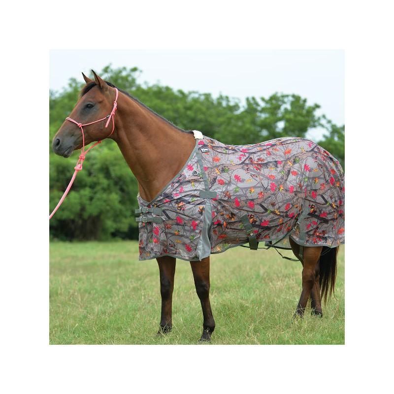 1 Couverture cheval anti-insectes, couverture anti uv, Hot leaf, Cashel - Le Paturon