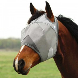 1 Crusader Fly Mask Sans Oreilles ,Cashel,Masque Anti-Mouches cheval