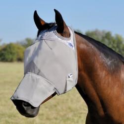 1 Masque anti-mouche cheval, Protection Naseaux, Fly Mask, Cashel - Le Paturon