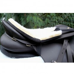 2 protection mouton selle anglaise, cashel, amortisseur cheval, equipement cheval