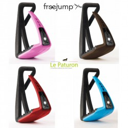 1 Etrier Freejump, Soft Up Lite : Etriers Free Jump - Le Paturon