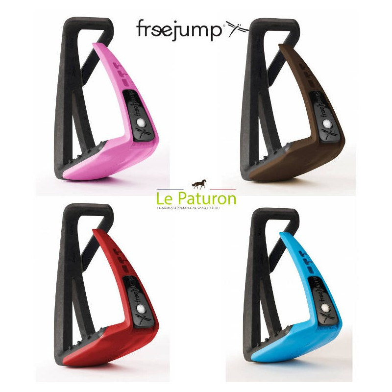 1 Etrier Freejump, Soft Up Lite : Etriers Free Jump - Le Paturon