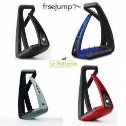 2 Etrier Freejump, Soft Up Lite : Etriers Free Jump - Le Paturon