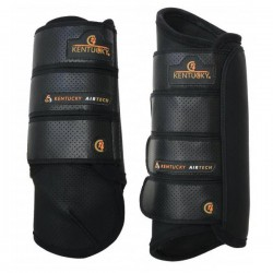 Guêtre postérieures de cross Kentucky, Eventing Boots Air Tech : Protection Cheval Kentucky