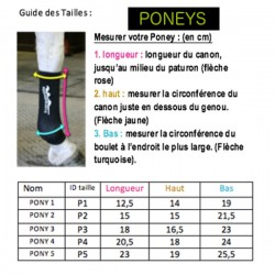 2 Chaussettes Contention Poney - Equiflexsleeve