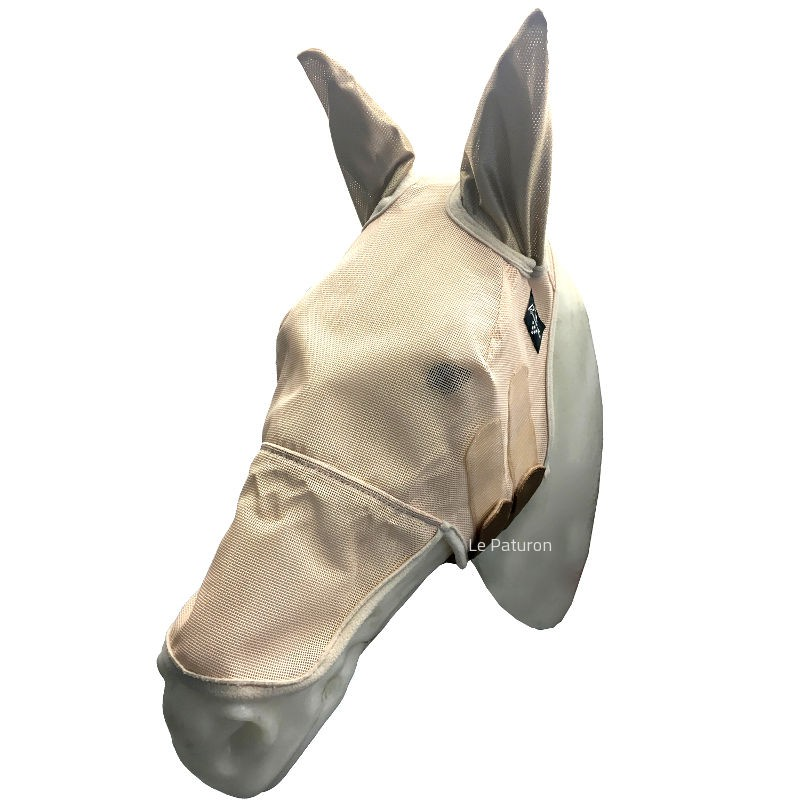 1 Fly Mask UV Cheval Avec Oreilles ,Profesionnal s Choice,Masque Anti-Mouches cheval
