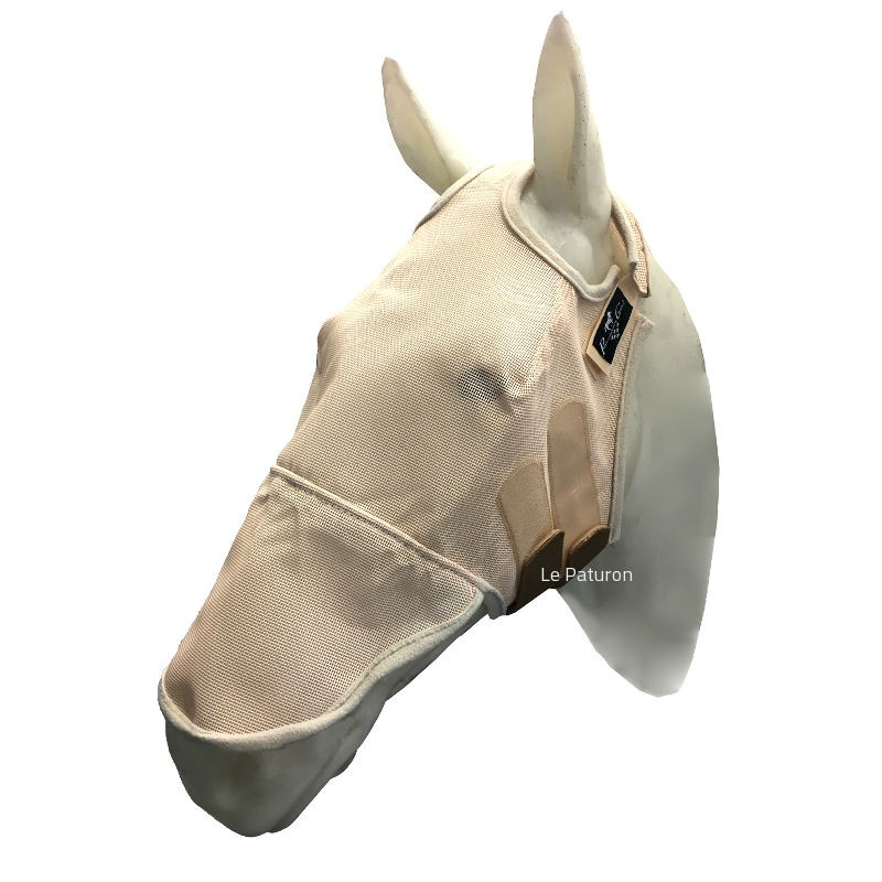 1 Fly Mask UV Sans Oreille Cheval ,Profesionnal s Choice,Masque Anti-Mouches cheval
