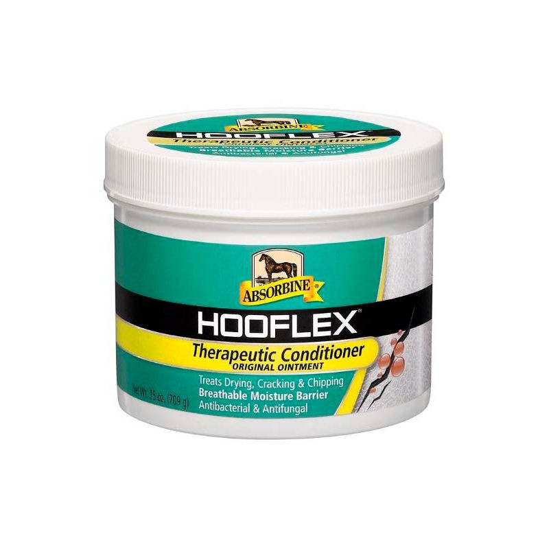 1 Hooflex Pot Soin Complet Sabot Cheval ,Absorbine,Onguent et Soins sabots