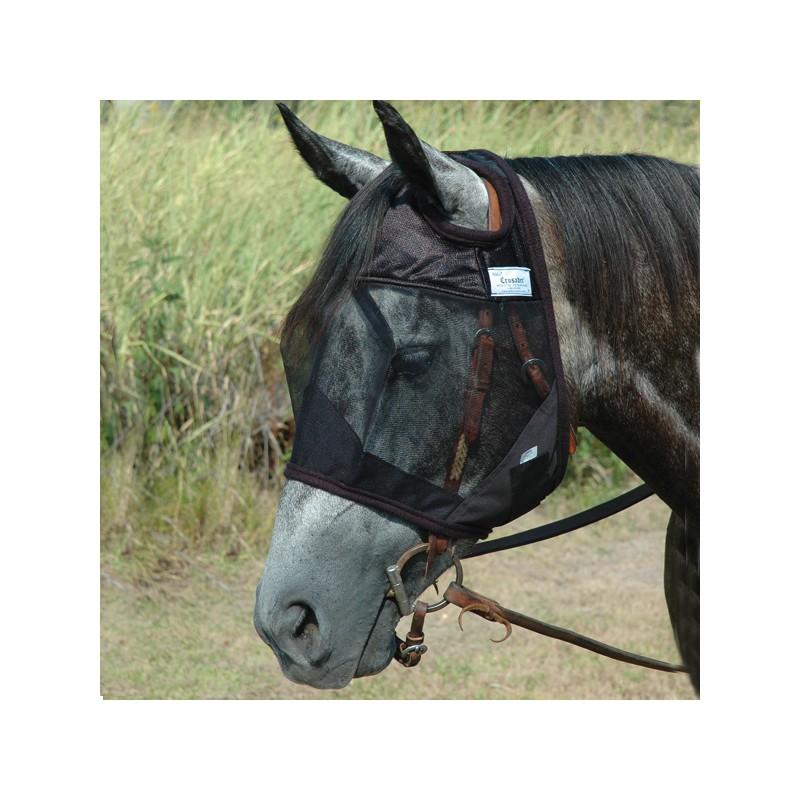 1 Masque Anti-Insectes Travail Cheval ,Cashel,Masque Anti-Mouches cheval