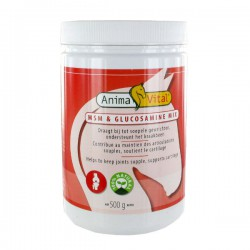 1 Mix MSM Glucosamine Cheval ,Animavital,Sélection Compléments cheval