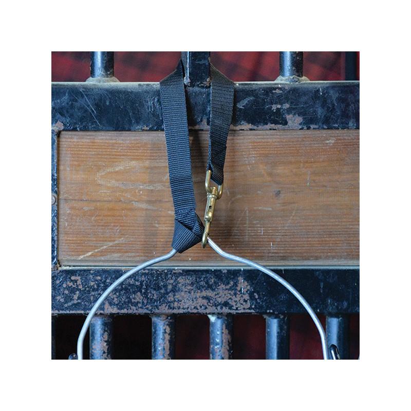 1 Mousqueton attache porte box ,Cashel,Sangle et Longe cheval