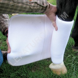 1 Bandage Coton Epais Cheval ,Cashel,Bande cheval