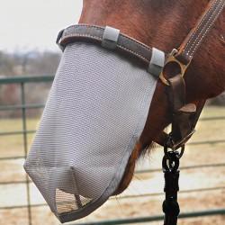 Protection Naseaux Net Chevaux ,Cashel,Masque Anti-Mouches cheval