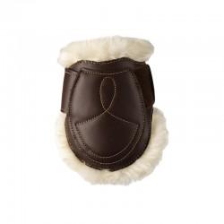 2 Protège boulet mouton cuir cheval,Kentucky,Protège-Boulets et Cloche
