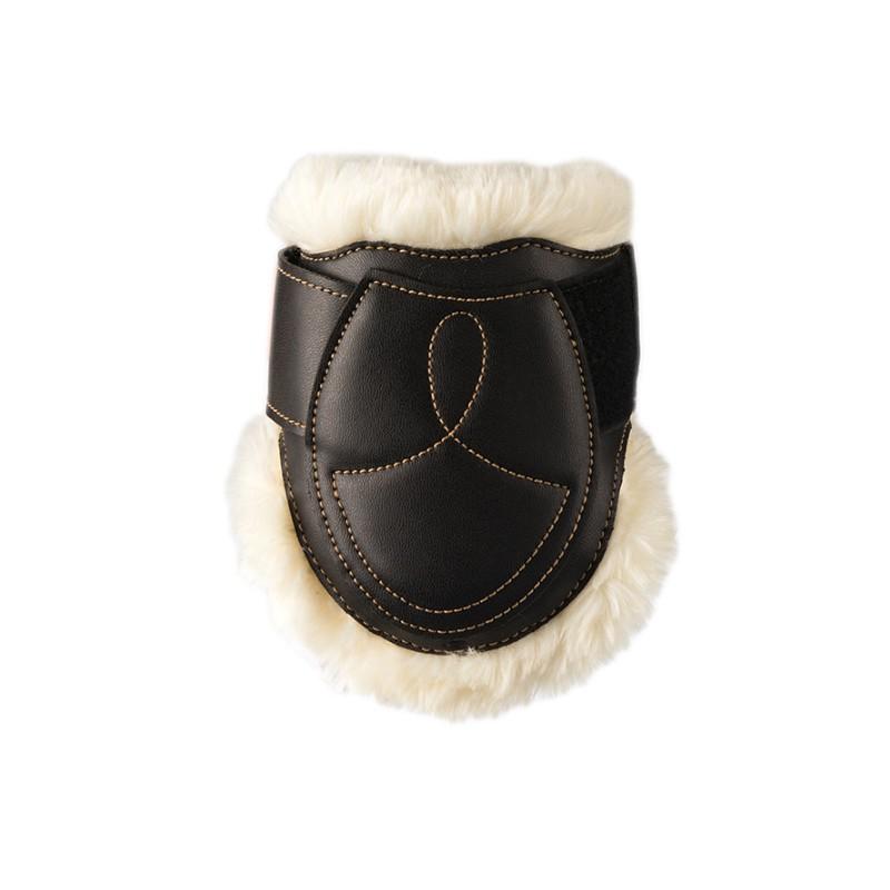 3 Protège boulet mouton cuir cheval,Kentucky,Protège-Boulets et Cloche
