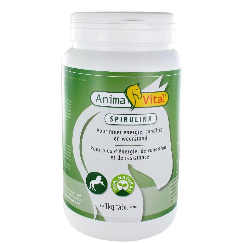 1 Spiruline Tablette Cheval ,Animavital,Sélection Compléments cheval