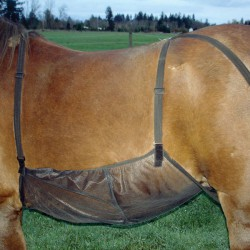 1 Protection anti-mouche ventre cheval : Equipement Cheval Cashel