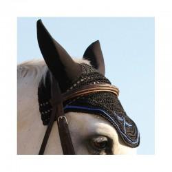 3 Bonnet anti mouche cheval, anti-bruit Soundless, FREEJUMP, Le Paturon