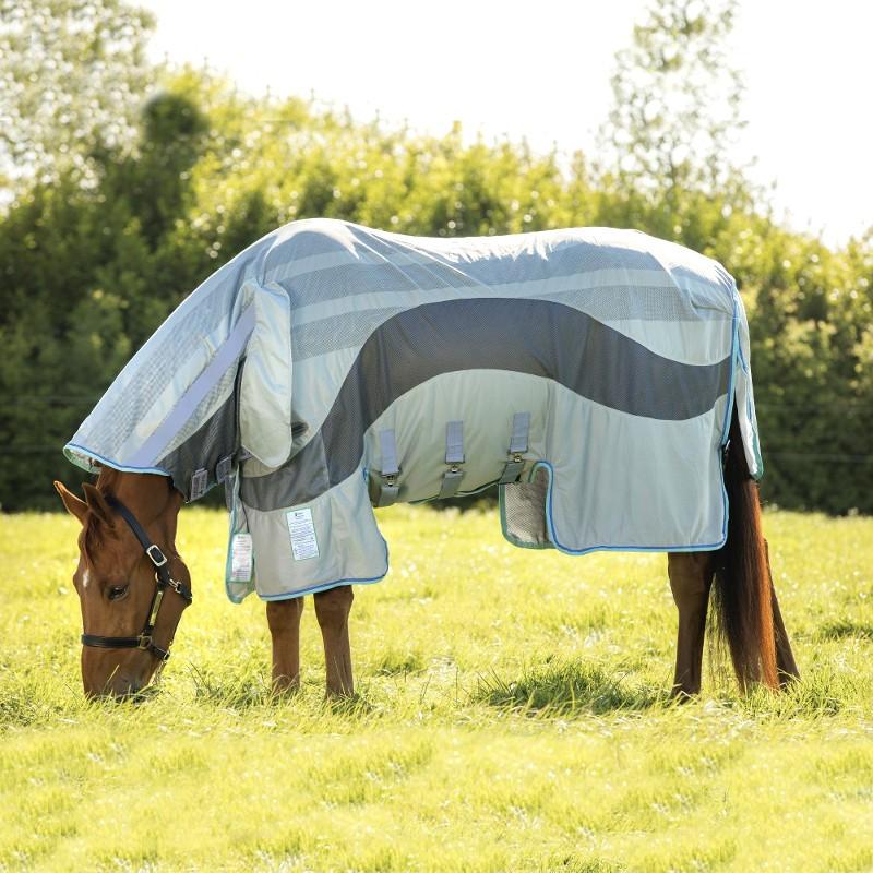 1 Couverture anti-mouches cheval anti-uv Amigo Vamoose Evolution : Couverture Cheval Horseware